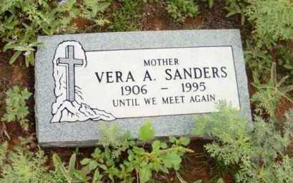 SANDERS, VERA A. - Yavapai County, Arizona   VERA A. SANDERS - Arizona Gravestone Photos