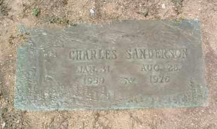 SANDERSON, CHARLES H. - Yavapai County, Arizona | CHARLES H. SANDERSON - Arizona Gravestone Photos