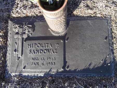 SANDOVAL, HIPOLITA PONCE - Yavapai County, Arizona | HIPOLITA PONCE SANDOVAL - Arizona Gravestone Photos