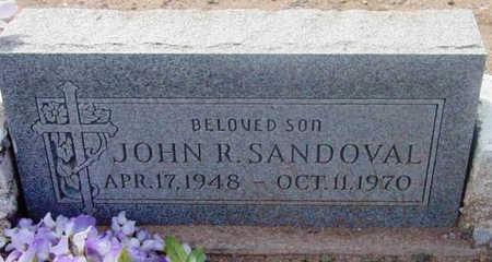 SANDOVAL, JOHN R. - Yavapai County, Arizona | JOHN R. SANDOVAL - Arizona Gravestone Photos
