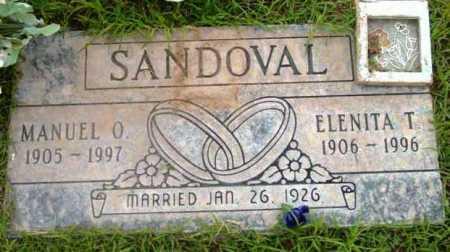 SANDOVAL, ELENITA T. - Yavapai County, Arizona | ELENITA T. SANDOVAL - Arizona Gravestone Photos