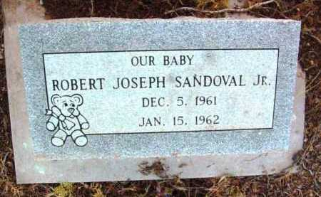 SANDOVAL, ROBERT JOSEPH, JR. - Yavapai County, Arizona | ROBERT JOSEPH, JR. SANDOVAL - Arizona Gravestone Photos