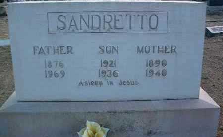 SANDRETTO, CATHERINE - Yavapai County, Arizona | CATHERINE SANDRETTO - Arizona Gravestone Photos