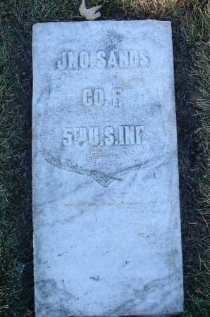 SANDS, JOHN - Yavapai County, Arizona | JOHN SANDS - Arizona Gravestone Photos