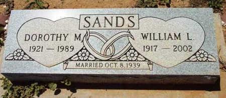 SANDS, DOROTHY M. - Yavapai County, Arizona   DOROTHY M. SANDS - Arizona Gravestone Photos