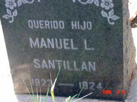 SANTILLAN, MANUEL L. - Yavapai County, Arizona | MANUEL L. SANTILLAN - Arizona Gravestone Photos