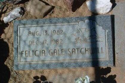 SATCHWILL, FELICIA GALE - Yavapai County, Arizona   FELICIA GALE SATCHWILL - Arizona Gravestone Photos