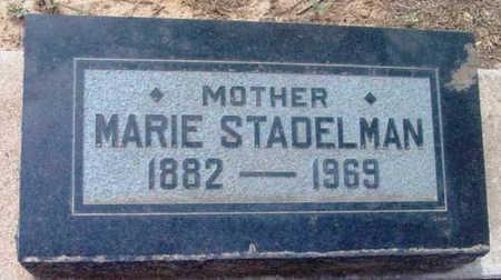 STADELMAN, MARIE SOPHIA - Yavapai County, Arizona | MARIE SOPHIA STADELMAN - Arizona Gravestone Photos