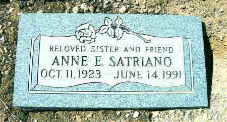 SATRIANO, ANNE E. - Yavapai County, Arizona | ANNE E. SATRIANO - Arizona Gravestone Photos