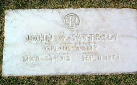 SATTERLY, JOHN W. - Yavapai County, Arizona   JOHN W. SATTERLY - Arizona Gravestone Photos