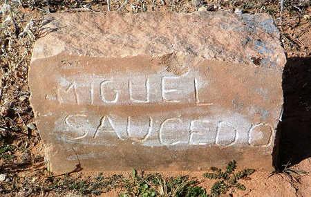 SAUCEDO, MIGUEL - Yavapai County, Arizona   MIGUEL SAUCEDO - Arizona Gravestone Photos