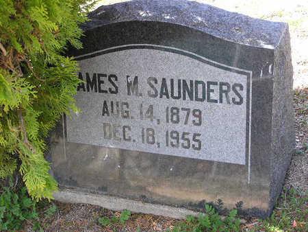 SAUNDERS, JAMES M - Yavapai County, Arizona | JAMES M SAUNDERS - Arizona Gravestone Photos
