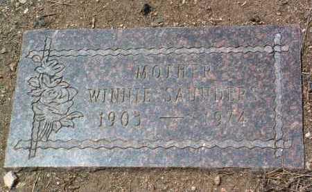 RIGGS SAUNDERS, WINNIE - Yavapai County, Arizona | WINNIE RIGGS SAUNDERS - Arizona Gravestone Photos