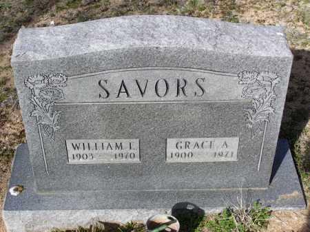 SAVORS, WILLIAM I. - Yavapai County, Arizona | WILLIAM I. SAVORS - Arizona Gravestone Photos