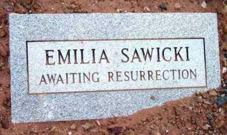 SAWICKI, EMILIA - Yavapai County, Arizona | EMILIA SAWICKI - Arizona Gravestone Photos