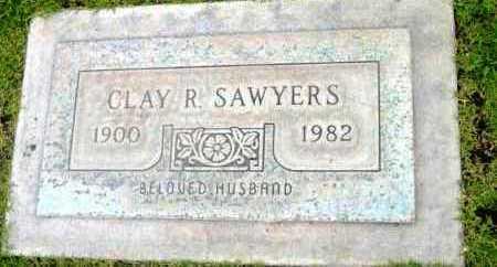 SAWYERS, CLAY RAYMOND - Yavapai County, Arizona | CLAY RAYMOND SAWYERS - Arizona Gravestone Photos