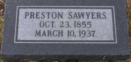 SAWYERS, PRESTON - Yavapai County, Arizona | PRESTON SAWYERS - Arizona Gravestone Photos