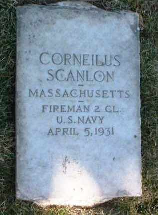 SCANLON, CORNELIUS - Yavapai County, Arizona   CORNELIUS SCANLON - Arizona Gravestone Photos