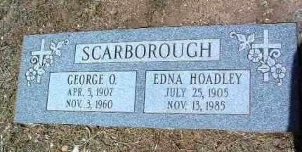 SCARBOROUGH, GEORGE O. - Yavapai County, Arizona   GEORGE O. SCARBOROUGH - Arizona Gravestone Photos