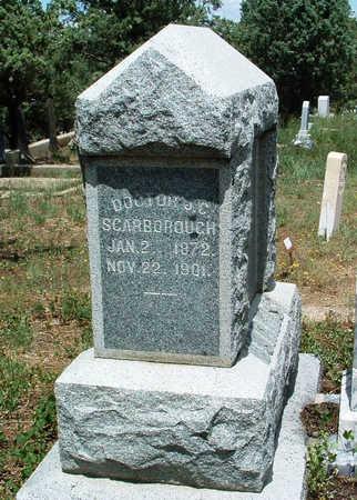 SCARBOROUGH, JOEL C. - Yavapai County, Arizona | JOEL C. SCARBOROUGH - Arizona Gravestone Photos