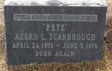 SCARBROUGH, AZZRO LOGAN - Yavapai County, Arizona | AZZRO LOGAN SCARBROUGH - Arizona Gravestone Photos