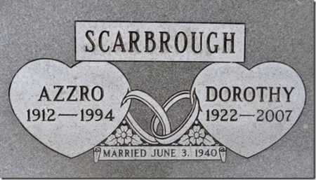 SCARBROUGH, DOROTHY N. - Yavapai County, Arizona | DOROTHY N. SCARBROUGH - Arizona Gravestone Photos