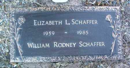 SCHAFFER, ELIZABETH LOUISE - Yavapai County, Arizona | ELIZABETH LOUISE SCHAFFER - Arizona Gravestone Photos