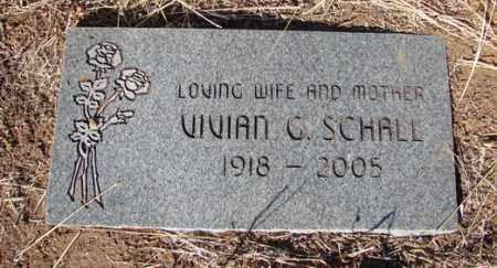 SCHALL, VIVIAN C. - Yavapai County, Arizona | VIVIAN C. SCHALL - Arizona Gravestone Photos