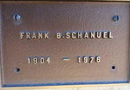 SCHANUEL, FRANK BENJAMIN - Yavapai County, Arizona | FRANK BENJAMIN SCHANUEL - Arizona Gravestone Photos