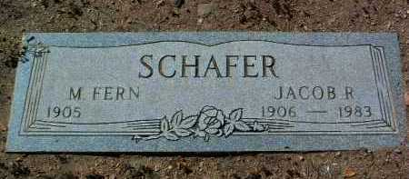 BROWN SCHAFER, MARIAM FERN - Yavapai County, Arizona | MARIAM FERN BROWN SCHAFER - Arizona Gravestone Photos
