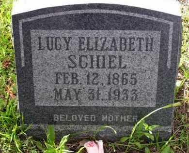 HUBBARD SCHIEL, LUCY E. - Yavapai County, Arizona | LUCY E. HUBBARD SCHIEL - Arizona Gravestone Photos