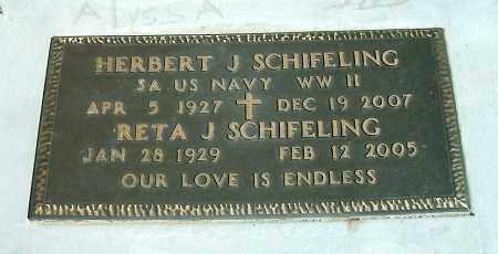 BYRON SCHIFELING, RETA J. - Yavapai County, Arizona   RETA J. BYRON SCHIFELING - Arizona Gravestone Photos