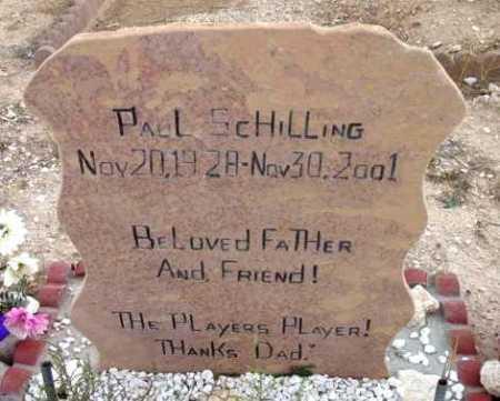 SCHILLING, PAUL - Yavapai County, Arizona | PAUL SCHILLING - Arizona Gravestone Photos
