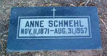 SCHMEHL, ANNE - Yavapai County, Arizona   ANNE SCHMEHL - Arizona Gravestone Photos