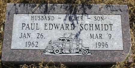 SCHMIDT, PAUL EDWARD - Yavapai County, Arizona   PAUL EDWARD SCHMIDT - Arizona Gravestone Photos