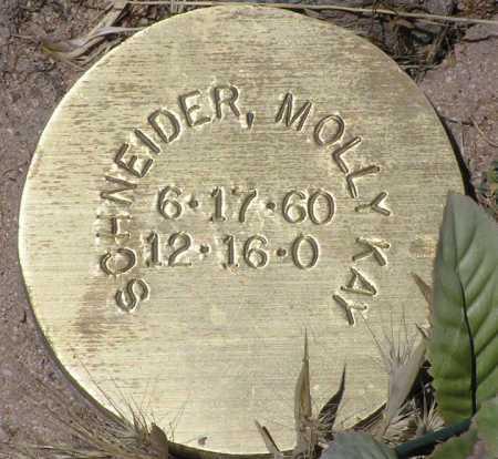 SCHNEIDER, MOLLY KAY - Yavapai County, Arizona | MOLLY KAY SCHNEIDER - Arizona Gravestone Photos