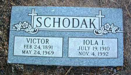 SCHODAK, IOLA ISABELL - Yavapai County, Arizona | IOLA ISABELL SCHODAK - Arizona Gravestone Photos