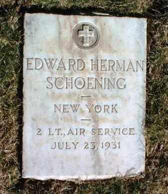 SCHOENING, EDWARD H. - Yavapai County, Arizona | EDWARD H. SCHOENING - Arizona Gravestone Photos