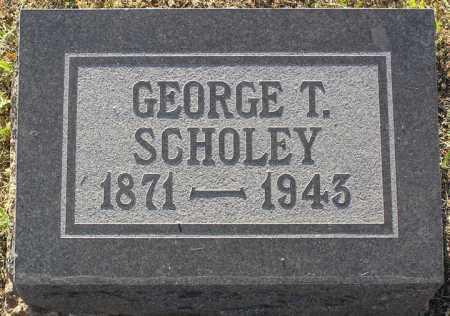 SCHOLEY, GEORGE T. - Yavapai County, Arizona | GEORGE T. SCHOLEY - Arizona Gravestone Photos