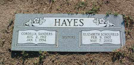 HAYES SCHOLFIELD, E. - Yavapai County, Arizona | E. HAYES SCHOLFIELD - Arizona Gravestone Photos