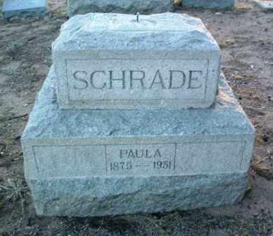 RUST SCHRADE, PAULA - Yavapai County, Arizona | PAULA RUST SCHRADE - Arizona Gravestone Photos