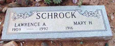 SCHROCK, LAWRENCE A. - Yavapai County, Arizona | LAWRENCE A. SCHROCK - Arizona Gravestone Photos