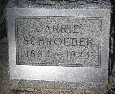 SCHROEDER, CARRIE - Yavapai County, Arizona | CARRIE SCHROEDER - Arizona Gravestone Photos
