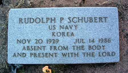 SCHUBERT, RUDOLPH P. - Yavapai County, Arizona | RUDOLPH P. SCHUBERT - Arizona Gravestone Photos