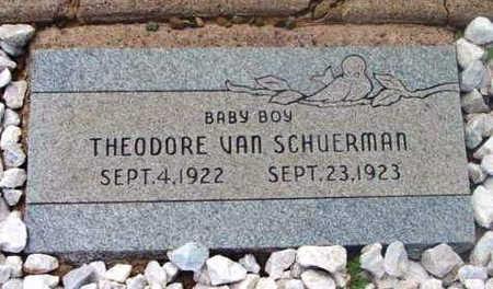 SCHUERMAN, THEODORE V. - Yavapai County, Arizona   THEODORE V. SCHUERMAN - Arizona Gravestone Photos