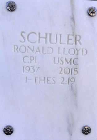SCHULER, RONALD LLOYD - Yavapai County, Arizona   RONALD LLOYD SCHULER - Arizona Gravestone Photos
