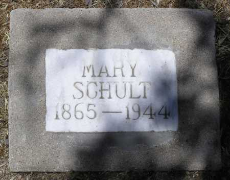 SCHULT / SCHULTS, MARY - Yavapai County, Arizona | MARY SCHULT / SCHULTS - Arizona Gravestone Photos