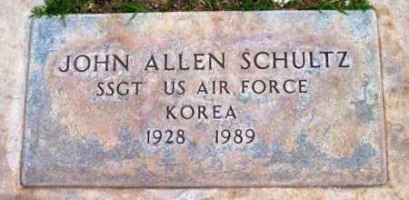 SCHULTZ, JOHN ALLEN - Yavapai County, Arizona | JOHN ALLEN SCHULTZ - Arizona Gravestone Photos