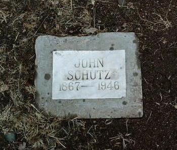 SCHUTZ, JOHN NICHOLAS - Yavapai County, Arizona | JOHN NICHOLAS SCHUTZ - Arizona Gravestone Photos