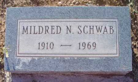 SCHWAB, MILDRED NELLIE - Yavapai County, Arizona | MILDRED NELLIE SCHWAB - Arizona Gravestone Photos